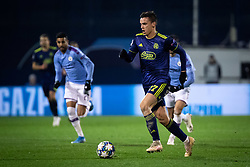 Nikola Moro of Dinamo Zagreb  during football match between GNK Dinamo Zagreb and Manchester City in 6th Round of UEFA Champions league 2019/20, on December 11, 2019 in Maksimir, Zagreb, Croatia. Photo by Blaž Weindorfer / Sportida