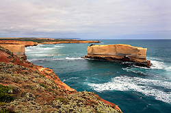 AUSTRALIA VICTORIA GREAT OCEAN ROAD 10FEB08 - View of Mutton Bird Island and surrounding cliffs, southern Victoria coast, Australia...jre/Photo by Jiri Rezac..© Jiri Rezac 2008..Contact: +44 (0) 7050 110 417.Mobile:  +44 (0) 7801 337 683.Office:  +44 (0) 20 8968 9635..Email:   jiri@jirirezac.com.Web:    www.jirirezac.com..© All images Jiri Rezac 2007 - All rights reserved.