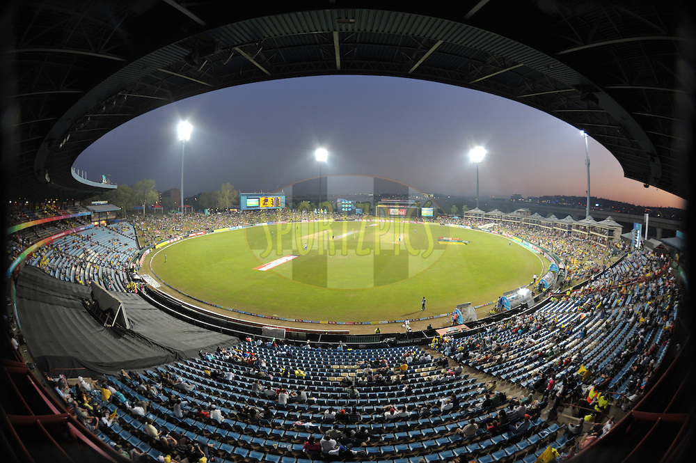 Supersport Park during match 9 of the Airtel CLT20 held between the Chennai Super Kings v Wayamba Elevens at Supersport Park in Centurion on the 15 September 2010..Photo by: Michael Edwards/SPORTZPICS/CLT20