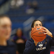 HARTFORD, CONNECTICUT- JANUARY 4:  Kia Nurse #11 of the Connecticut Huskies warming up before the UConn Huskies Vs East Carolina Pirates, NCAA Women's Basketball game on January 4th, 2017 at the XL Center, Hartford, Connecticut. (Photo by Tim Clayton/Corbis via Getty Images)