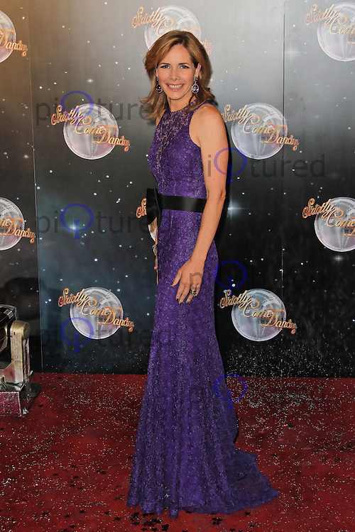 LONDON - SEPTEMBER 11: Darcey Bussell attended the Strictly Come Dancing Launch at the BBC Television Centre, London, UK. September 11, 2012. (Photo by Richard Goldschmidt)