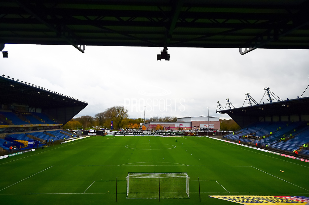 The Kassam Stadium during the EFL Sky Bet League 1 match between Oxford United and Northampton Town at the Kassam Stadium, Oxford, England on 11 November 2017. Photo by Dennis Goodwin.