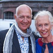 NLD/Amsterdam/20130712 - AFW2013 Zomer editie, modeshow Spijkers & Spijkers, Wubbo Ockels en partner Joos Swaving