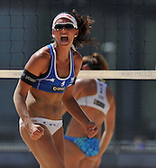 Day 02 - Beach Volley Swatch FIVB World Tour - Smart Grand Slam Rome 2013. Foro Italico.