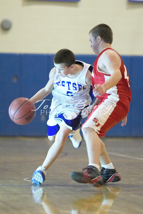 MCHS 8th Grade Boys Basketball..vs North Fork..Third Period..December 17, 2004