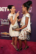 October 13, 2012- Bronx, NY: (L-R) Actresses Eva Longoria and Kerry Washington at the Black Girls Rock! Awards Red Carpet presented by BET Networks and sponsored by Chevy held at the Paradise Theater on October 13, 2012 in the Bronx, New York. BLACK GIRLS ROCK! Inc. is 501(c)3 non-profit youth empowerment and mentoring organization founded by DJ Beverly Bond, established to promote the arts for young women of color, as well as to encourage dialogue and analysis of the ways women of color are portrayed in the media. (Terrence Jennings)