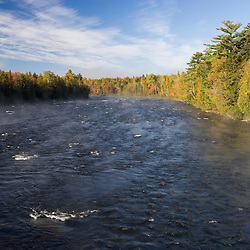 Fall on the Kennebec River near Moosehead Lake, Maine.  East Outlet.