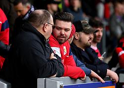 Bristol City fans at Burton Albion - Mandatory by-line: Robbie Stephenson/JMP - 10/03/2018 - FOOTBALL - Pirelli Stadium - Burton upon Trent, England - Burton Albion v Bristol City - Sky Bet Championship