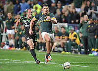 CAPE TOWN, SOUTH AFRICA - Saturday 11 July 2015, Damian de Allende of South Africa during the rugby test match between South Africa (Springboks) and the Word XV at Newlands Rugby stadium.<br /> Photo by Luigi Bennett / ImageSA