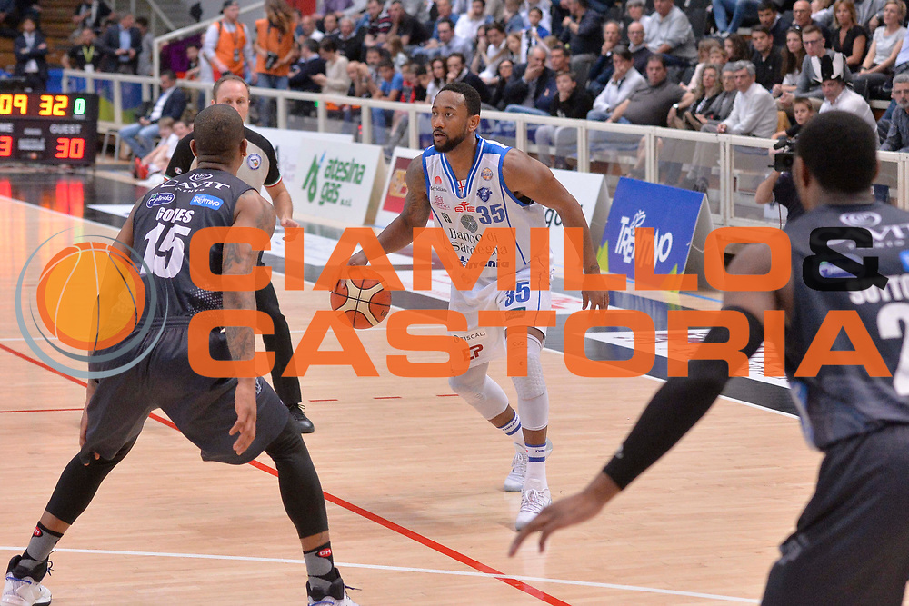 David Lighty<br /> Dolomiti Energia Aquila Basket Trento - Banco di Sardegna Dinamo Sassari<br /> Lega Basket Serie A 2016/2017<br /> Trento, 08/04/2017<br /> Foto Ciamillo - Castoria