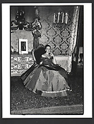 Virginia von Furstenberg at a Ball given by Count Giovanni Volpi. Venice. 31 August 1991 Exhibition in a Box