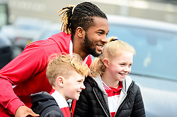 Kasey Palmer of Bristol City arrives at Ashton Gate Stadium prior to kick off - Mandatory by-line: Ryan Hiscott/JMP - 06/04/2019 - FOOTBALL - Ashton Gate Stadium - Bristol, England - Bristol City v Wigan Athletic - Sky Bet Championship