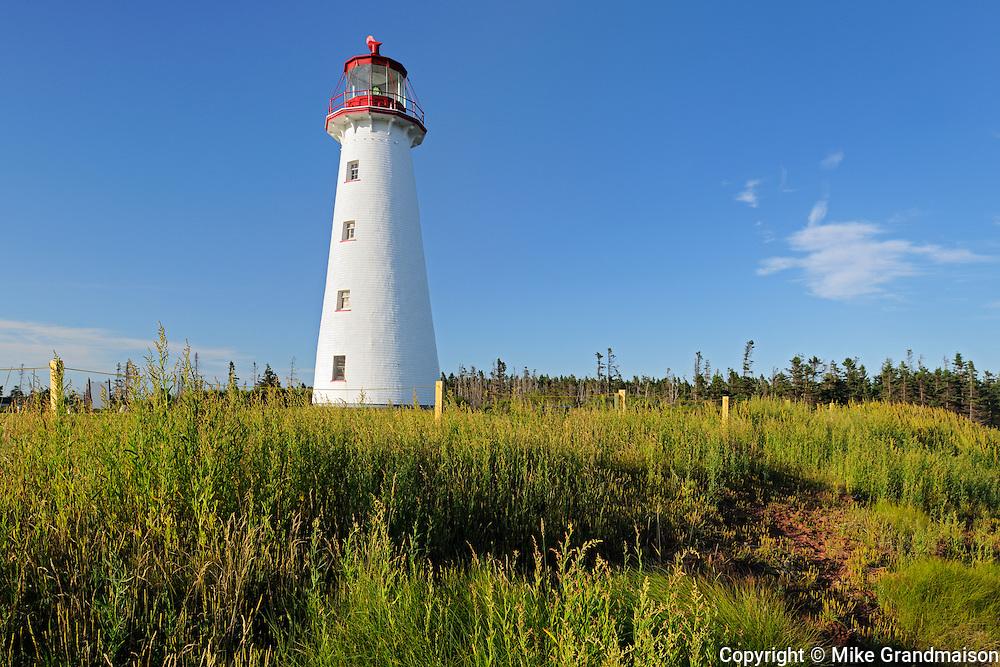 Point Prim Lighthouse<br /> Point Prim<br /> Prince Edward Island<br /> Canada
