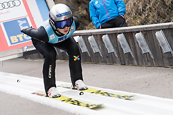 February 8, 2019 - Ljubno, Savinjska, Slovenia - Anna Odine Stroem of Norway on first competition day of the FIS Ski Jumping World Cup Ladies Ljubno on February 8, 2019 in Ljubno, Slovenia. (Credit Image: © Rok Rakun/Pacific Press via ZUMA Wire)