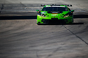 March 16-18, 2017: Mobil 1 12 Hours of Sebring. 11 GRT Grasser Racing Team, Lamborghini Huracan GT3, Richard Antinucci, Mirko Bortolotti, Christian Engelhart, Rolf Ineichen