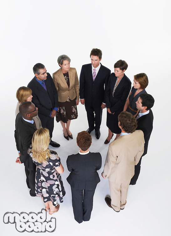 Group of Businesspeople in a circle