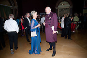 The duchess of gloucester; the right reverand and right hon Sir richard chartres, lord bishop of london. Annual Dinner. Royal Academy of Arts. Piccadilly. London. 8 June 2010. -DO NOT ARCHIVE-© Copyright Photograph by Dafydd Jones. 248 Clapham Rd. London SW9 0PZ. Tel 0207 820 0771. www.dafjones.com.