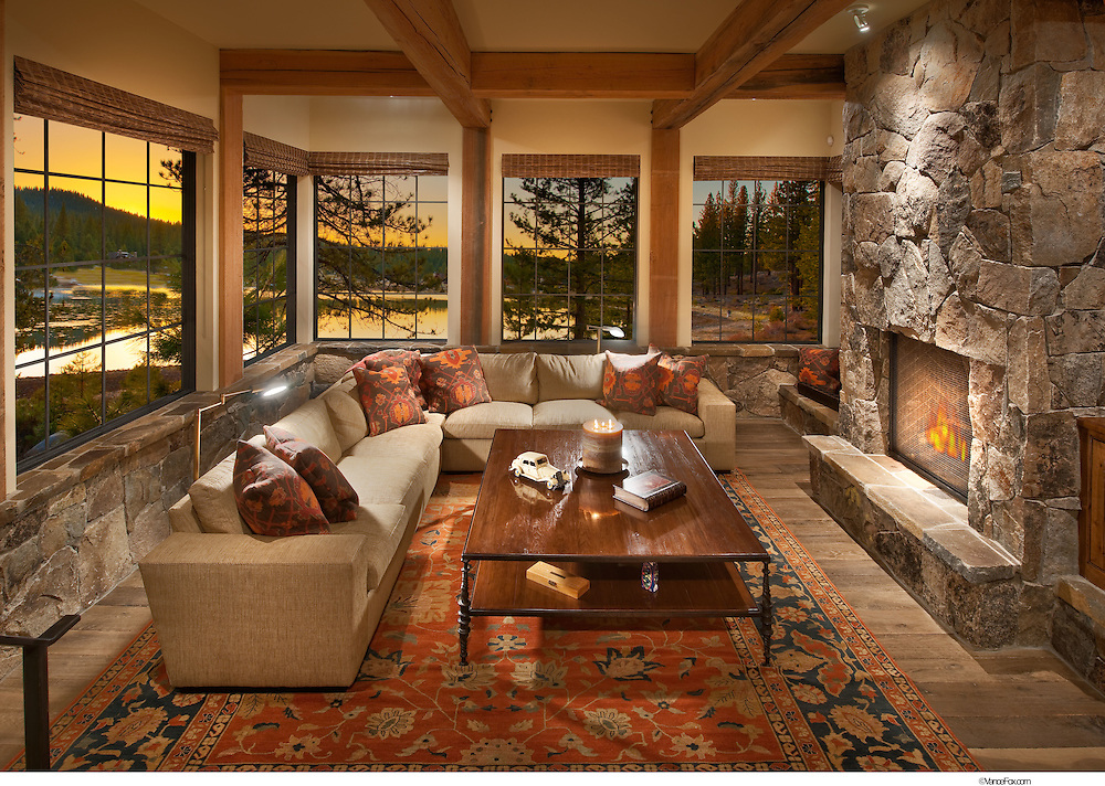 Residential Home Jones by MWA Architects , Jim Morrison Construction and Scheiber Design Group, Truckee, CA