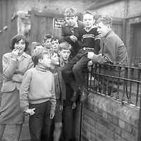 Group of children. Names, date and location unknown. (Part of the Independent Ireland Newspapers/NLI Collection)