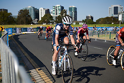 Tayler Wiles (USA) at Toward Zero Women's Race Melbourne 2019, a 63.6 km criterium in Melbourne, Australia on January 24, 2019. Photo by Sean Robinson/velofocus.com
