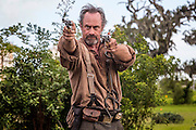 """Christopher Meloni as August Pullman in WGN America's """"Underground."""""""