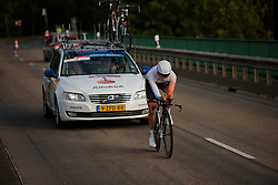 Jeanne Korevaar (Rabo Liv) at Thüringen Rundfarht 2016 - Stage 4 a 19km time trial starting and finishing in Zeulenroda Triebes, Germany on 18th July 2016.