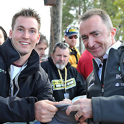 Executive director (technical): Paddy Lowe of Mercedes AMG Petronas F1 Team signing autographs.<br /> Round 1 - Second day of the 2015 Formula 1 Rolex Australian Grand Prix at The circuit of Albert Park, Melbourne, Victoria on the 13th March 2015.<br /> Wayne Neal | SportPix.org.uk