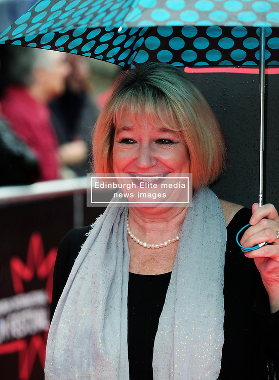 Edinburgh International Film Festival, Sunday 26th June 2016<br /> <br /> Stars turn up on the closing night gala red carpet for the World Premiere of &quot;Whisky Galore!&quot;  at the Edinburgh International Film Festival 2016<br /> <br /> Barbera Rafferty<br /> <br /> (c) Alex Todd | Edinburgh Elite media