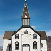 1870's era St Josephs Roman Catholic Church in Kamloops British Columbia, Canada.