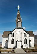 1870's era St Josephs Roman Catholic Church in Kamloops British Columbia, Canada.