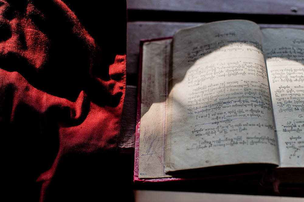 Monk Robe & Scriptures Book