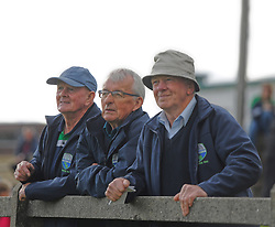 Watching the Mayo Junior Championship match between Achill and Knockmore were Marty Gallagher, Martin Lavelle and Tommy Gallagher.<br />Pic Conor McKeown