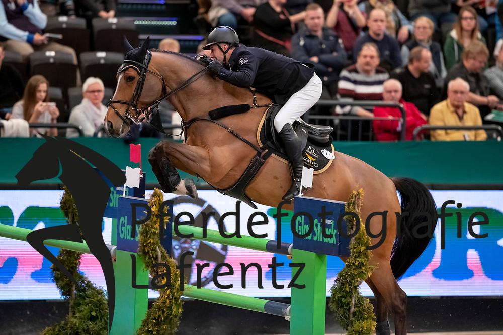 COX Karel (BEL), Kill Bill Max<br /> Leipzig - Partner Pferd 2019<br /> Championat von Leipzig<br /> 19. Januar 2019<br /> © www.sportfotos-lafrentz.de/Stefan Lafrentz