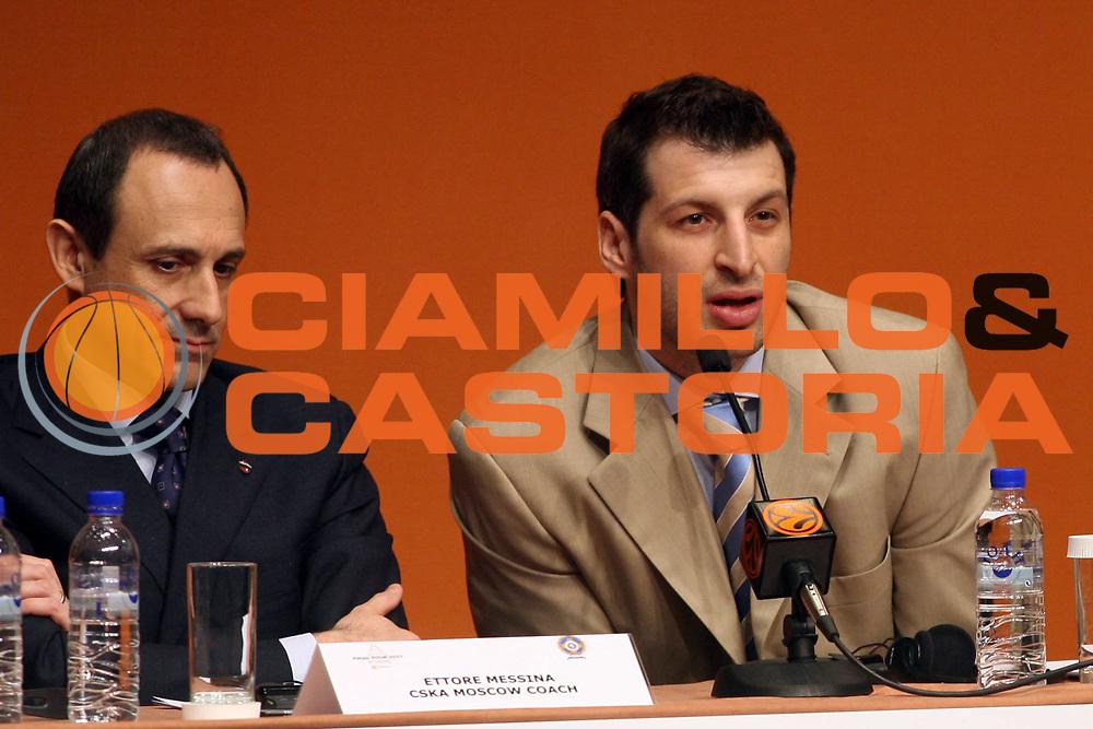 DESCRIZIONE : Atene Athens Eurolega Euroleague 2006-07 Final Four Conferenza Presentazione Press Conference<br /> GIOCATORE : Messina Papaloukas <br /> SQUADRA : Cska Mosca <br /> EVENTO : Atene Athens Eurolega Euroleague 2006-07 Final Four Conferenza Presentazione Press Conference<br /> GARA : <br /> DATA : 03/05/2007 <br /> CATEGORIA : Ritratto<br /> SPORT : Pallacanestro <br /> AUTORE : Agenzia Ciamillo-Castoria/G.Ciamillo<br /> Galleria : Eurolega 2006-2007 <br /> Fotonotizia : Atene Athens Eurolega Euroleague 2006-07 Final Four Conferenza Presentazione Press Conference<br /> Predefinita :