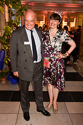 """Nicholas Coleridge and Georgie Coleridge at the opening of """"Frida Kahlo: Making Her Self Up"""" Exhibition at the V&A Museum, London England. 13 June 2018."""