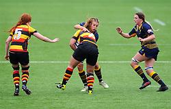 Cara Brincat of Worcester Valkyries tackles Alice Soper of Richmond Women - Mandatory by-line: Nizaam Jones/JMP - 22/09/2018 - RUGBY - Sixways Stadium - Worcester, England - Worcester Valkyries v Richmond Women - Tyrrells Premier 15s