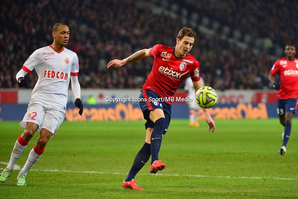 Nolan ROUX  - 24.01.2015 - Lille / Monaco - 22eme journee de Ligue1<br />Photo : Dave Winter / Icon Sport