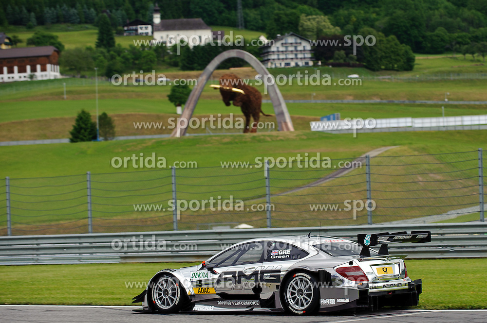 01.06.2012, Red Bull Ring, Spielberg, AUT, DTM Red Bull Ring, im Bild Jamie Green, (GBR, HWA) during the DTM training day on the Red Bull Circuit in Spielberg, 2012/06/01, EXPA Pictures © 2012, PhotoCredit: EXPA/ S. Zangrando