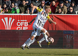 16.02.2019, TGW Arena, Pasching, AUT, OeFB Uniqa Cup, LASK vs SKN St. Pölten, Viertelfinale, im Bild Thomas Goiginger (LASK) // during the quaterfinal match of the ÖFB Uniqa Cup between LASK and SKN St. Pölten at the TGW Arena in Pasching, Austria on 2019/02/16. EXPA Pictures © 2019, PhotoCredit: EXPA/ Reinhard Eisenbauer