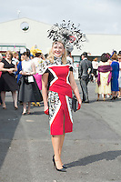 31/07/2014 Repro Free Louise Allen Slane Co. Meath at the Anthony Ryans Best Dressed Ladies day  at the Galway Races Summer Festival <br />  .Photo:Andrew Downes