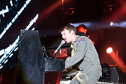 18.10.2014, Rothaus Arena, Freiburg, GER, James Blunt, Tour Moon Landing 2014, im Bild James Blunt // during a Concert from the Moon Landing Tour at the Rothaus Arena in Freiburg, Germany on 2014/10/18. EXPA Pictures © 2014, PhotoCredit: EXPA/ Eibner-Pressefoto/ Fleig<br /> <br /> *****ATTENTION - OUT of GER*****