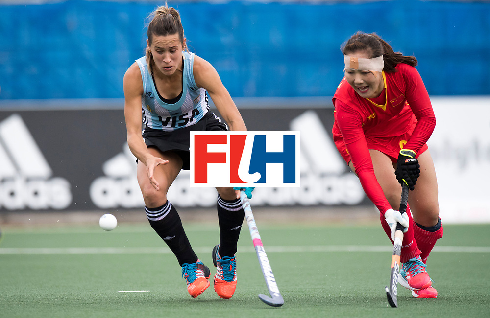 AUCKLAND - Sentinel Hockey World League final women<br /> Match id 10294<br /> 04 Argentina v China.<br /> Foto: Martina Cavallero <br /> WORLDSPORTPICS COPYRIGHT FRANK UIJLENBROEK