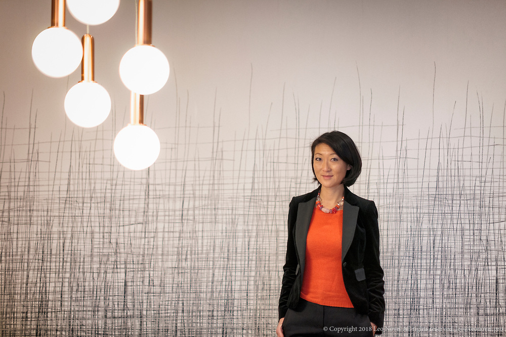 30  January  2017 – Paris Fleur Pellerin, CEO of Korelya poses for portraits at her office.