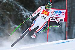 18.12.2010, Saslong, Groeden, ITA, FIS World Cup Ski Alpin, Men, Downhill, im Bild Yannick Bertrand (FRA, #39). EXPA Pictures © 2010, PhotoCredit: EXPA/ J. Groder