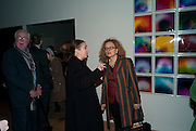 SUSAN HILLER; CAROLYN CHRISLOV-BAKARGIEV, Susan Hiller opening, Tate Britain. 31 January 2010. -DO NOT ARCHIVE-© Copyright Photograph by Dafydd Jones. 248 Clapham Rd. London SW9 0PZ. Tel 0207 820 0771. www.dafjones.com.