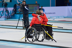 Aileen Neilson, Jim Gault, Wheelchair Curling Finals at the 2014 Sochi Winter Paralympic Games, Russia