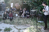 backyard party, highland park, los angeles