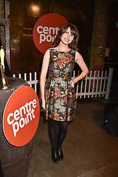 Ellie Taylor at the Centrepoint Ultimate Pub Quiz, Village Underground, 54 Holywell Lane, London England. 7 February 2017.