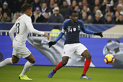 France's Blaise Matuidi during France v Uruguay friendly football match at the Stade de France in Saint-Denis, suburb of Paris, France on November 20, 2018. France won 1-0. Photo by Henri Szwarc/ABACAPRESS.COM