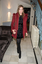 LADY TATIANA MOUNTBATTEN at the Tatler Little Black Book Party at Home House Member's Club, Portman Square, London supported by CARAT on 11th November 2015.